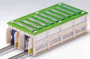 Kato N Scale UniTrack 2 Stall Long Engine House 23-300