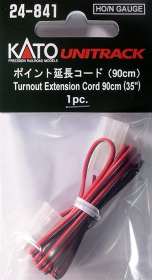 Kato HO / N Scale UniTrack Turnout Extention Cord (1 pc) 24-841