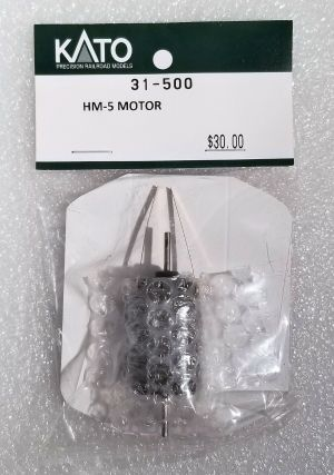 Kato HO Scale HM-5 Motor Double Shaft ~ 31-500