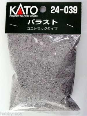Kato HO / N Scale UniTrack Ballast Gray 7 oz 200 gram 24-039