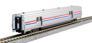 Kato N Scale Viewliner II Baggage Amtrak Phase III 61006 156-0955