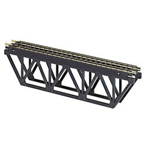 Atlas N Scale Code 80 Deck Truss Bridge 5″ Black 2547