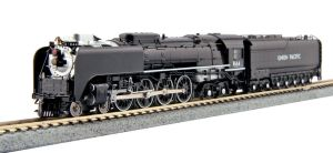 Kato N Scale Union Pacific Black 4-8-4 FEF-3 #844 DCC Ready ~ 126-0401