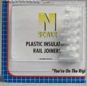 Atlas N Scale Code 80 Track Insulated Rail Joiners 24 pcs (6 Packs) 2538