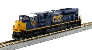 Kato N Scale CSX SD70ACe Dark Future #4850 176-8437