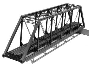 Central Valley Model Works HO 150 Ft. Pratt Truss Bridge Kit 1902