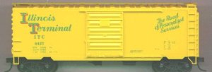 Accurail HO Illinois Terminal PS-1 Steel Boxcar #34071