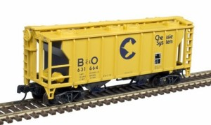 Atlas N Scale Trainman PS-2 Covered Hopper ~ Baltimore & Ohio #6321247 50004170