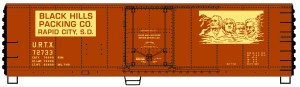 Accurail HO Black Hills Packing Steel Reefer Boxcar #8526