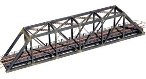 Central Valley Model Works N Scale 150′ Bridge Kit W/Walkways 1820
