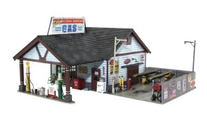 Woodland Scenics HO Built and Ready Ethyl's Gas & Service BR5048