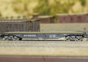 Central Valley Model Works HO 41′ Flat Car Kit Undecorated/Northern Pacific (2 pcs) 1003