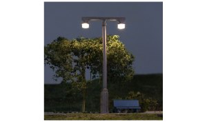 Woodland Scenics HO Just Plug Twin Lamp JP5676