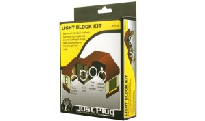 Woodland Scenics Just Plug Light Block Kit JP5716