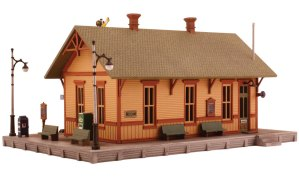 Woodland Scenics HO Woodland Station Kit PF5187