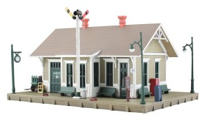 Woodland Scenics HO Built and Ready Danbury Depot BR5023