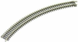 Peco N Scale Code 80 No. 2 Double Curved 10 3/8″ Radius Track Wood Ties (1 pc) ST-15