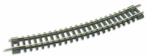 Peco N Scale Code 80 No. 3 Standard Curved 11 3/4″ Radius Track Wood Ties (1 pc) ST-16