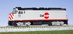 Kato N Scale Caltrain #914 F40PH 76-9004