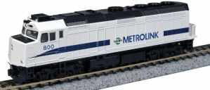 Kato N Scale Metrolink #800 F40PH 76-9005