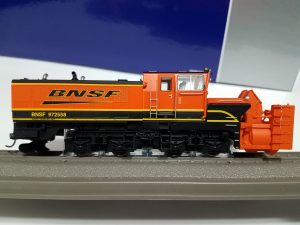 Roco HO Beilhack Rotary Snow Blower BNSF ~ DCC & Sound 72806