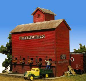 Monroe Models HO Lunde Coal Elevator Laser Kit #2215