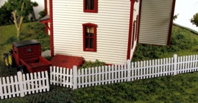 Monroe Models N Straight Picket Fence Laser Kit #9307