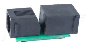 NCE 8 Wire Adapter Converts 6 Wire RJ12 Cab Bus To 8 Wire RJ45 5240235
