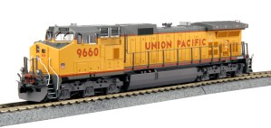 Kato HO Union Pacific GE C44-9W UP #9632 DCC Ready 37-6633