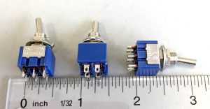 NCE On/Off/On DPDT Center Off Toggle Switch (5 pcs) 5240317