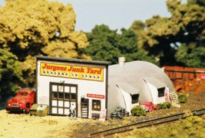 Monroe Models N Scale Jurgens Junk Yard Laser Kit #9204