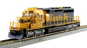 Kato HO Santa Fe EMD SD40-2 Mid-Production ATSF #5088 DCC Ready 37-6617