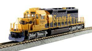 Kato HO Santa Fe EMD SD40-2 Mid-Production ATSF #5088 DCC Ready 37-6617