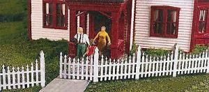 Monroe Models N Ornate Picket Fence Laser Kit #9308