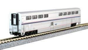 Kato N Scale Superliner Amtrak Phase IVb 4-Car Set A 106-3515