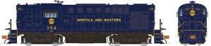 Rapido HO ALCO RS-11 Norfolk & Western #354 Hamburger Logo With ESU DCC LokSound 31519