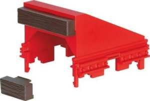 LGB G Scale RhB Track Bumper Era VI 10316