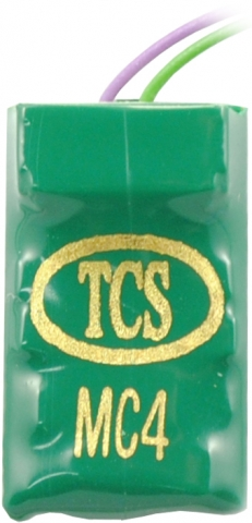 TCS MC4A HO DCC Decoder 7-Pin JST 4 Functions 1349