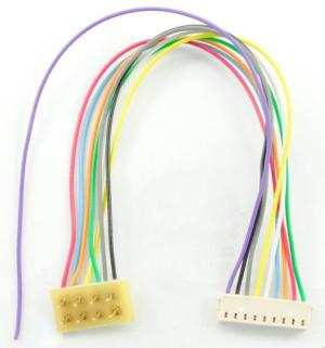TCS T-3.5″ Harness ~ 8 Pin NMRA To 9 Pin JST 1361