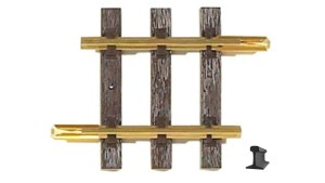 PIKO G Scale 35204 ~ G95 95MM Straight Track 3.7″ With Joiners ~ 1 Piece