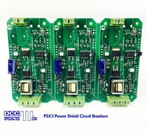DCC Specialties PSX3 PowerShield PSX-3 Circuit Breakers With Feedback