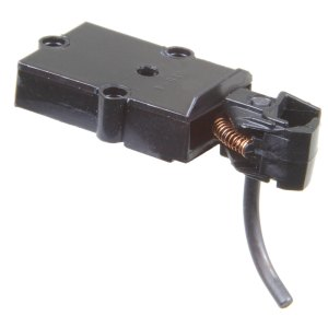 Kadee #802 Plastic Couplers & Plastic Gearboxes – Black – S Scale