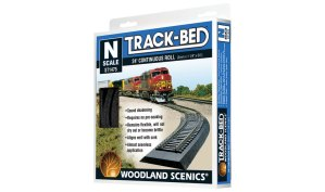 Woodland Scenics Track-Bed™ Roll – N Scale ST1475