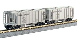 Kato N Scale ACF 70 Ton Hopper ~ 4 Roads 2 Ea ~ 8 Car Set ~ 1064700