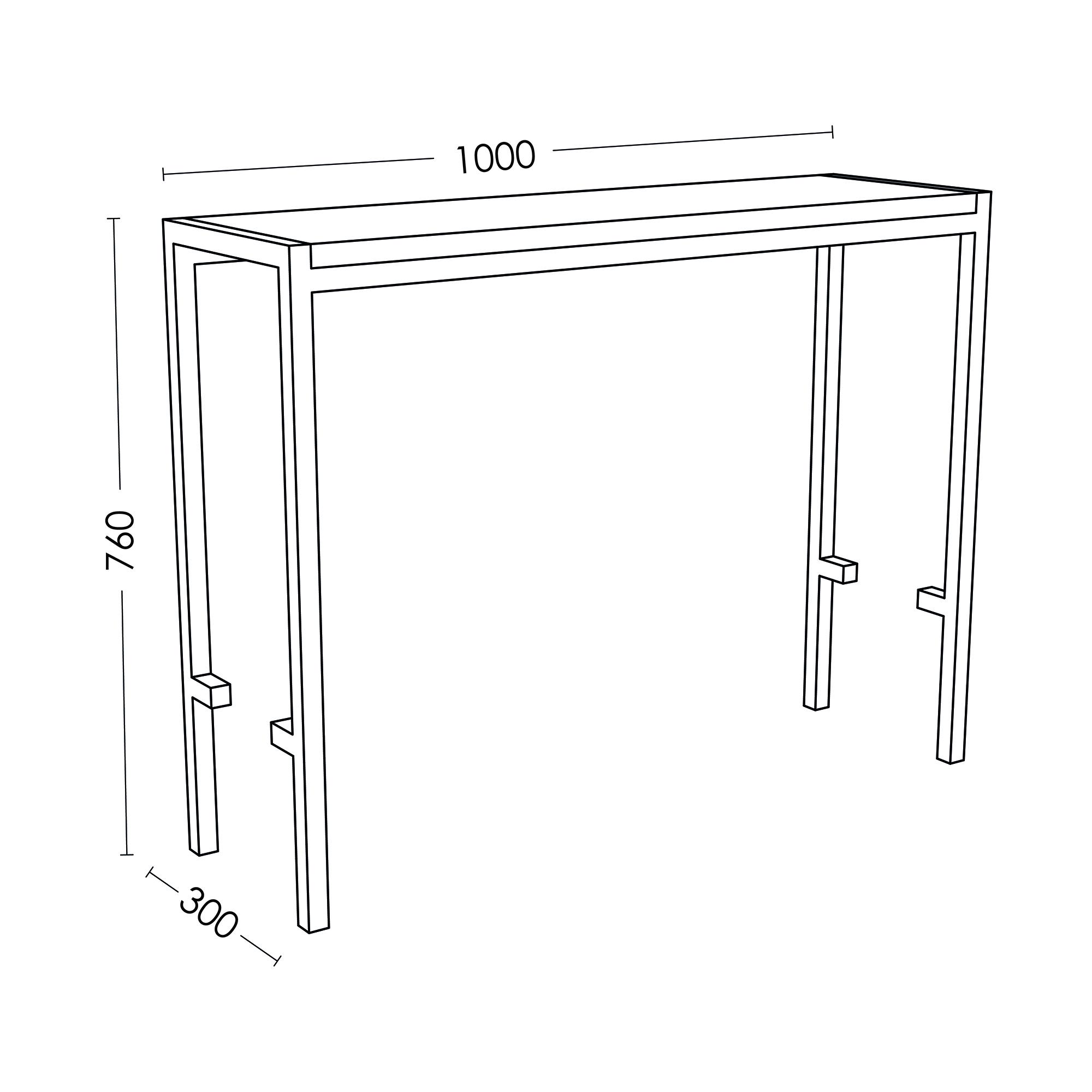 long table ironpole