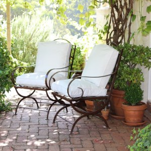 TERRACE GARDEN CHAIR