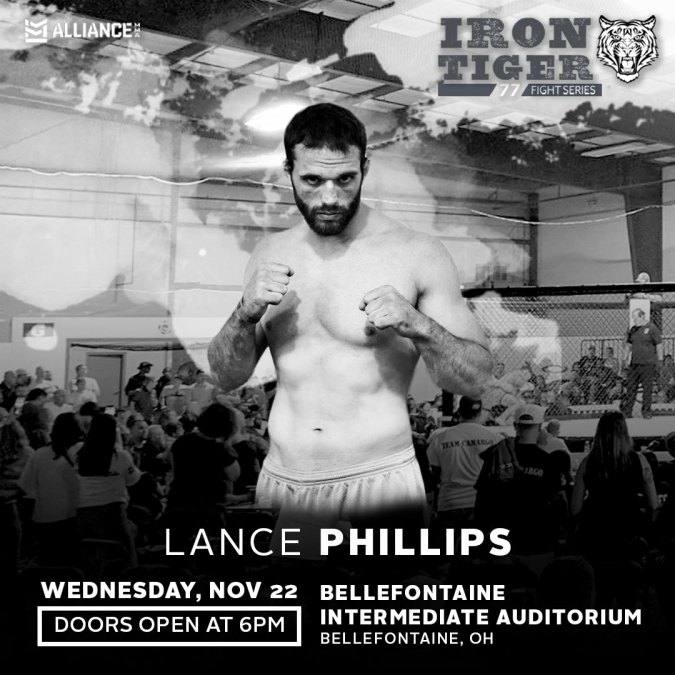 Lance Phillips ready for battle at Iron Tiger 77