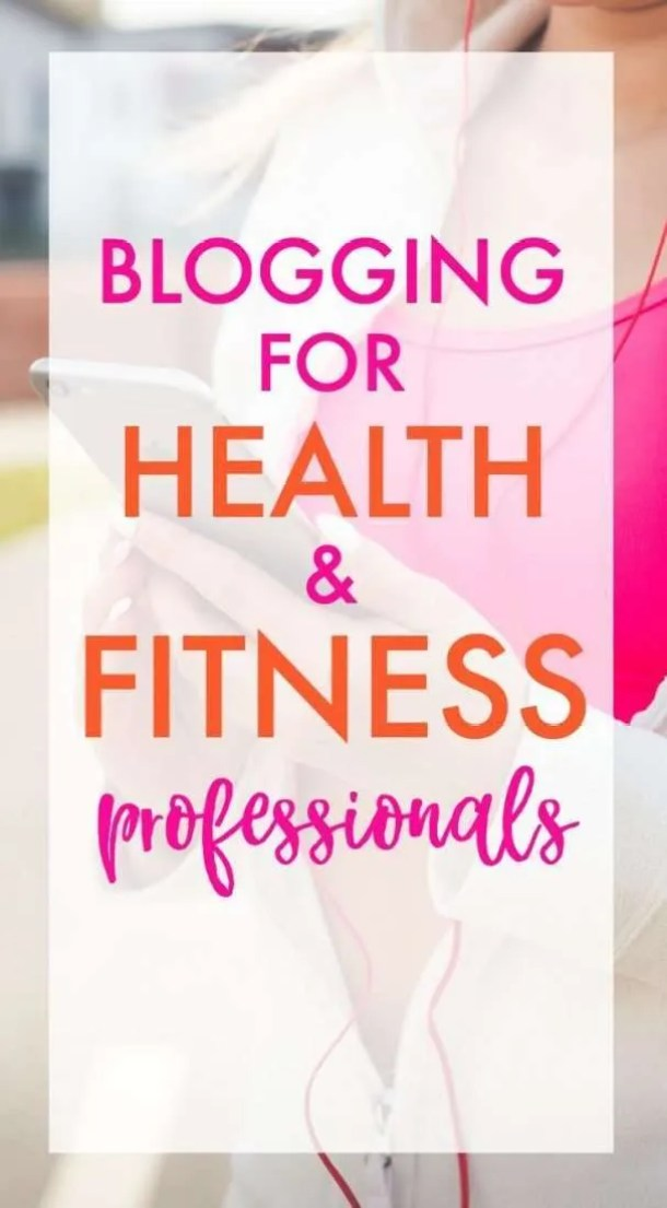 Blogging for fitness professionals. Find out how to maximize income and increase your flexibility as a personal trainer, health coach, or other health professional.