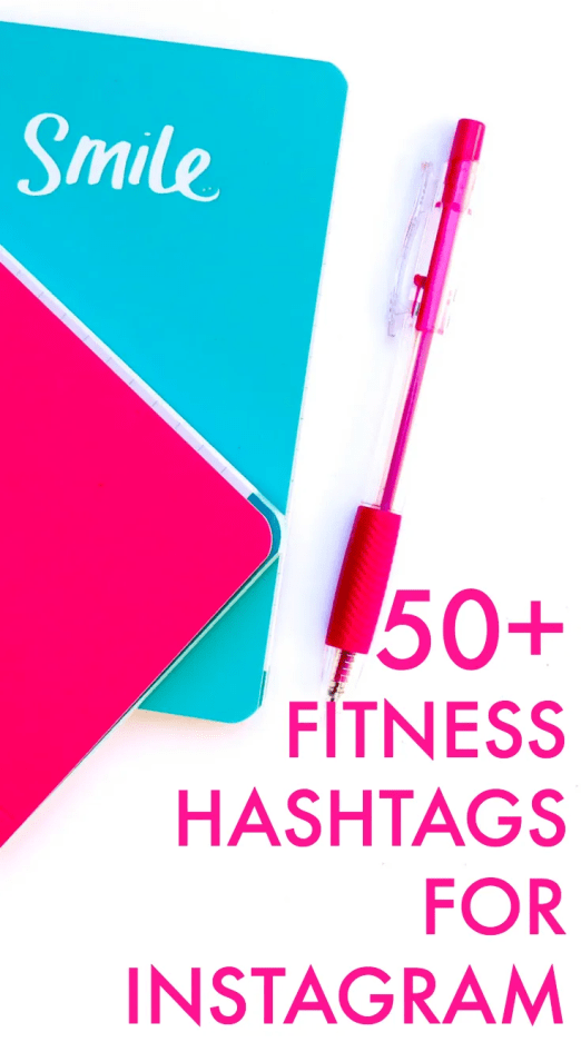 Fitness hashtags for Instagram. Grow your instagram with these ideas.