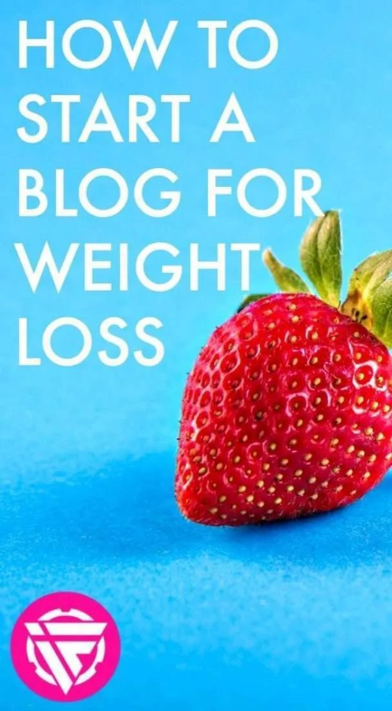 How to start a weight loss blog for your fitness journey. People are more accountable when they do things publicly!